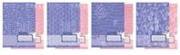 """Тетр 12л скр А5 кл карт 5933/4-EAC """"Фактура"""" розовая, голубая (2 кр)"""