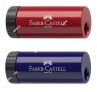 Точилка 1 отверстие, с контейнером, пластик Faber-Castell