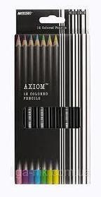 Цветные карандаши Marco Axiom 12цв.