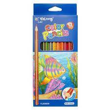 Цветные карандаши Yalong 12цв.