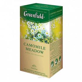 Чай Greenfield Camomile Meadow, травяной, 25 пакетиков