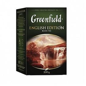 Чай Greenfield English Edition , черный, 200 гр, листовой