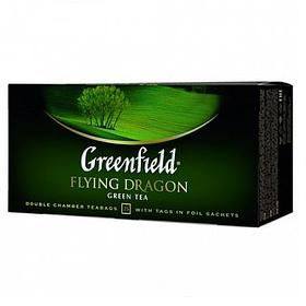 Чай Greenfield Flying Dragon, зеленый, 25 пакетиков