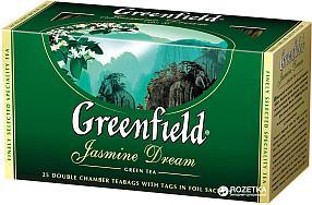 Чай Greenfield Jasmine Dream, зеленый, 25 пакетиков