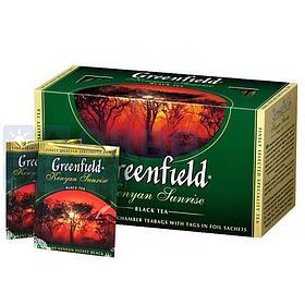 Чай Greenfield Kenyan Sunrise, черный, 25 пакетиков