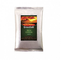 Чай Greenfield Rich Ceylon, черный, 250 гр, листовой