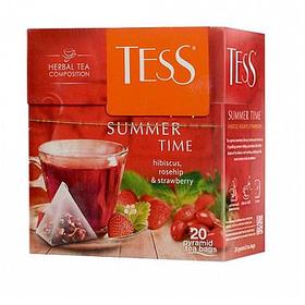 Чай Tess Summer Time, травяной, 20 пирамидок