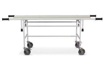 Тележка для перевозки больных со съемной панелью ТБС-01 Ока-Медик с ложем из нержавеющей стали