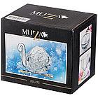 "Икорница ""muza crystal"" с ложкой 11*7*8,5 см., фото 2"