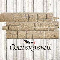 """Фасадная панель Дёке """"Burg"""" (Оливковый), фото 1"""