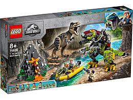 75938 Lego Jurassic World Бой тираннозавра и робота-динозавра, Лего Мир Юрского периода