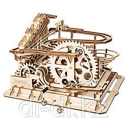 Деревянный 3D конструктор Robotime Waterwheel Coaster