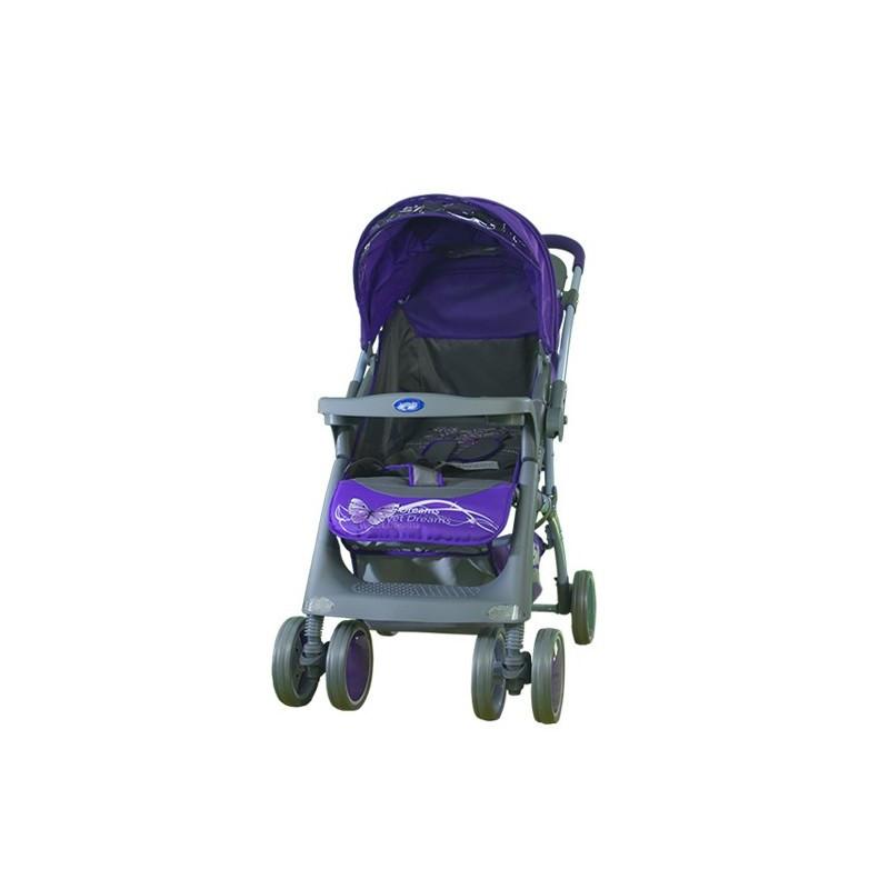 Коляска прогулочная Mars Фиолетовый / Violet Butterfly