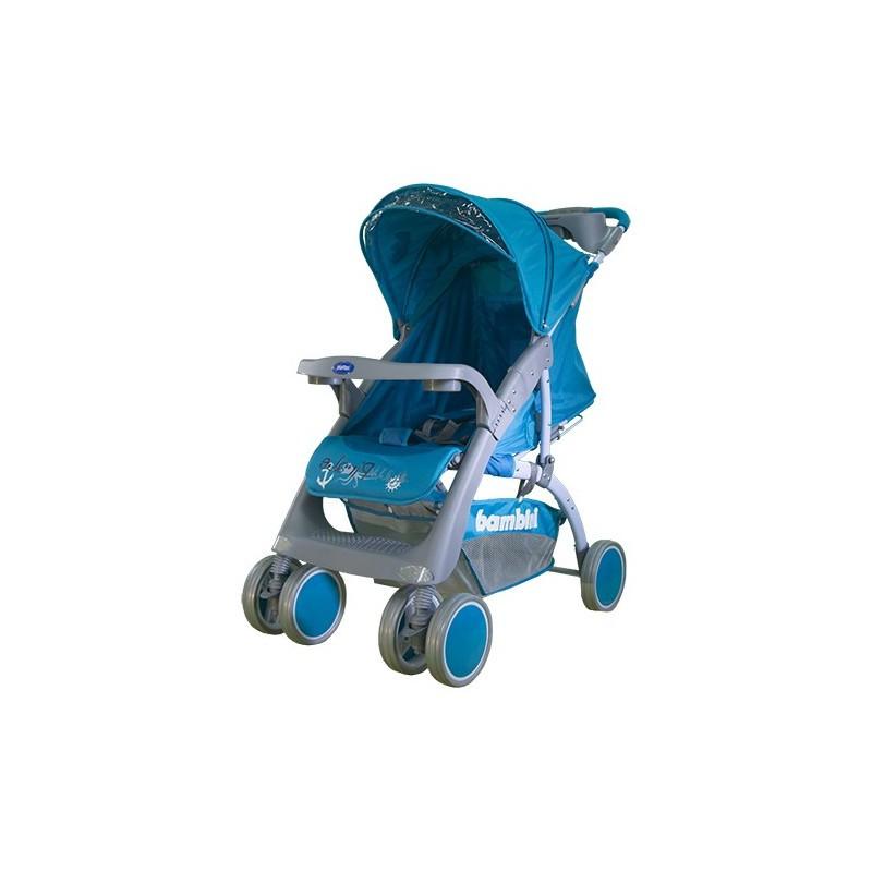 Коляска прогулочная Neon Синий / Blue Pirate
