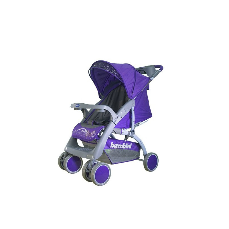 Коляска прогулочная Neon Фиолетовый / Violet Butterfly