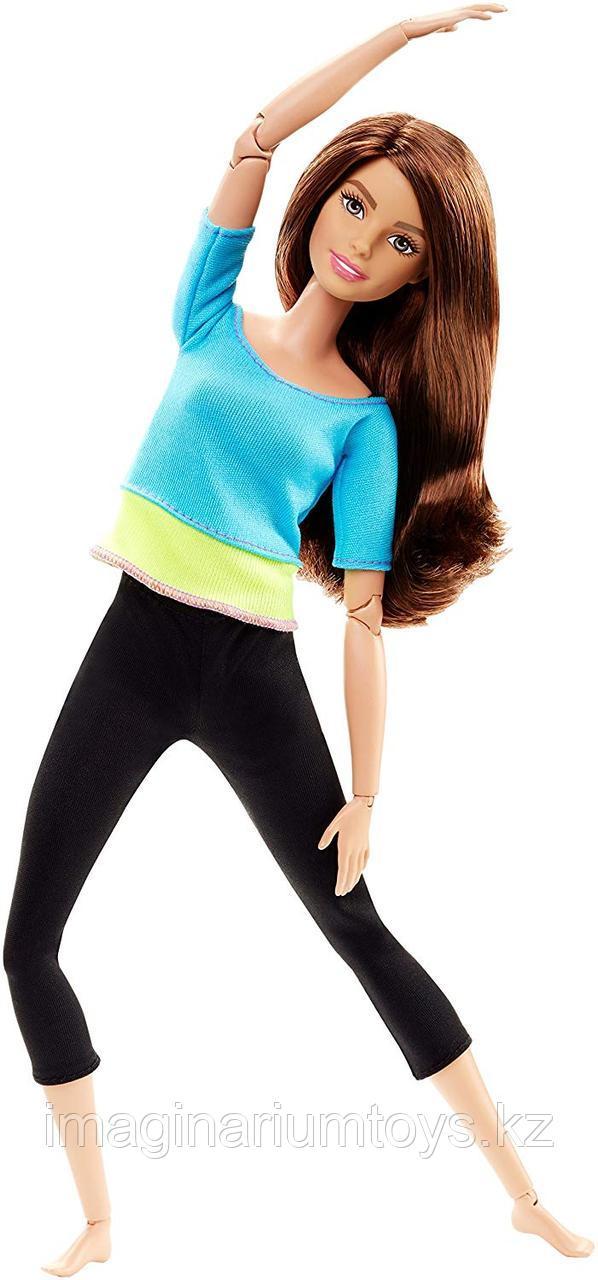 Кукла Барби Безграничные движения Фитнес брюнетка
