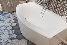 Акриловая ванна с гидромассажем. Джакузи. Аверс (Dinamika) 170*80 СМ. (Общий массаж + спина + ноги), фото 3