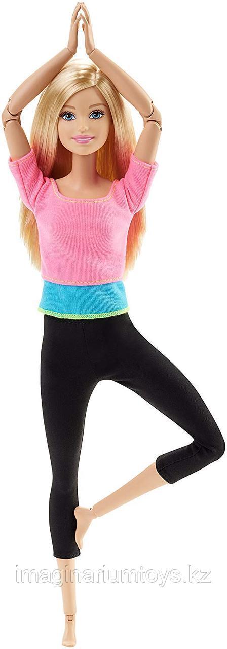 Кукла Барби Безграничные движения Фитнес блондинка