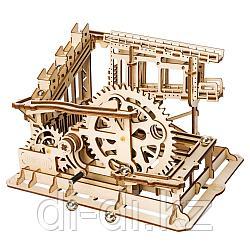 Деревянный 3D конструктор Robotime Зубчатый подъемник
