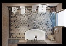 Акриловая ванна с гидромассажем. Джакузи. Нега170*94 СМ. (Общий массаж + спина + ног + дна), фото 2
