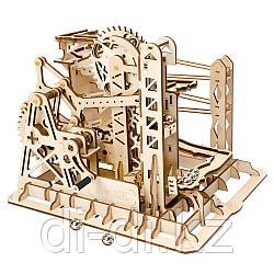 Деревянный 3D конструктор Robotime Механический подъемник