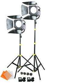 Светодиодная (LED) панель для фото / видео Camtree SUN 6 с линзой Френеля (2 осветителя)