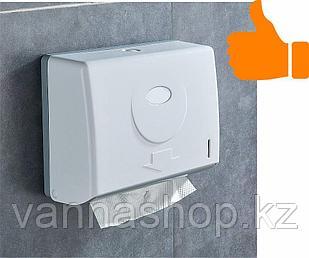 Диспенсер для бумажных полотенец белого цвета ( Z укладка)