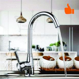 Однорычажный смеситель для кухни (гаечный)