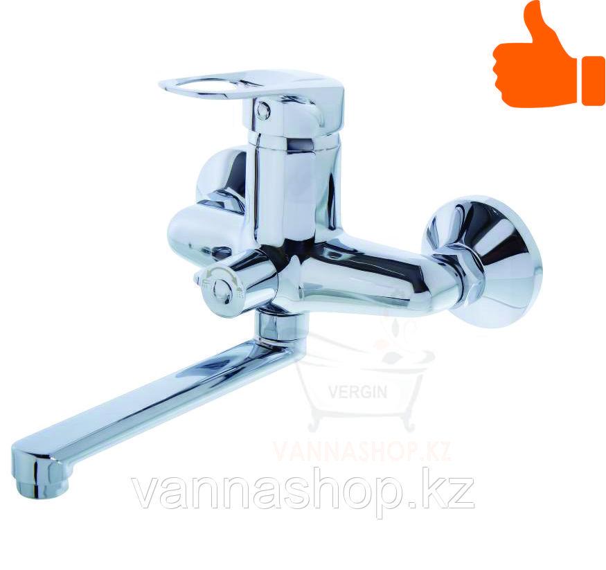 Однорычажный смеситель для ванны со встроенным дуплексом