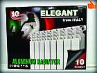 Радиатор отопления (Элегант) алюминиевый 10 секций 96/500., фото 4