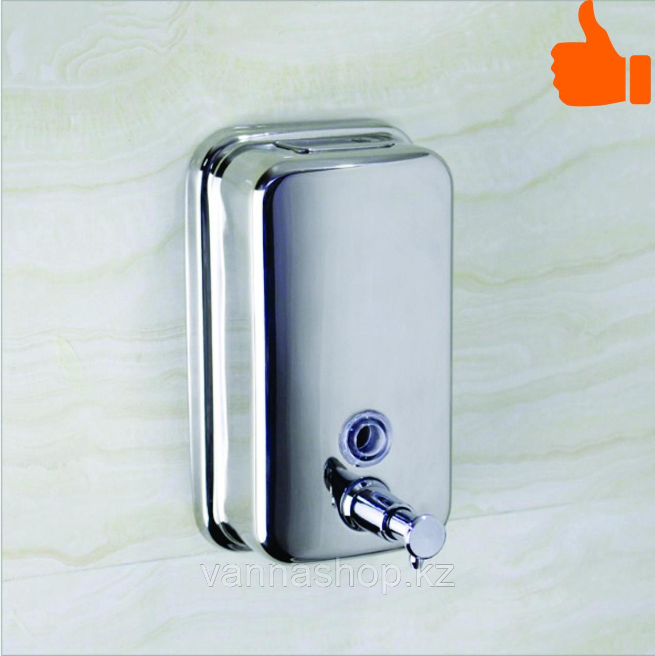 Дозатор (диспенсер) для жидкого мыла 1000 мл хром