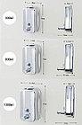 Дозатор (диспенсер) для жидкого мыла 1000 мл хром, фото 7