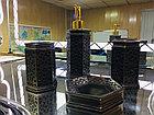 Фарфоровый набор для ванной (темно-коричневый), фото 2