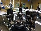 Фарфоровый набор для ванной (темно-коричневый), фото 3