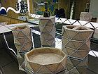 Фарфоровый набор для ванной (бежевый), фото 3