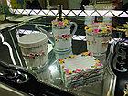 """Фарфоровый набор для ванной """"Домик в деревне"""", фото 2"""