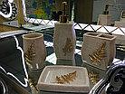 """Фарфоровый набор для ванной """"Бежевый"""", фото 2"""