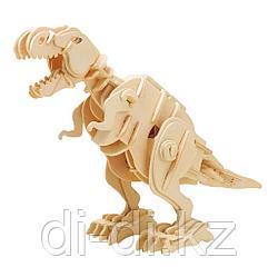 Деревянный 3D конструктор Robotime T-Rex