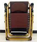Кресло-раскладушка с подголовником (Шезлонг), фото 3