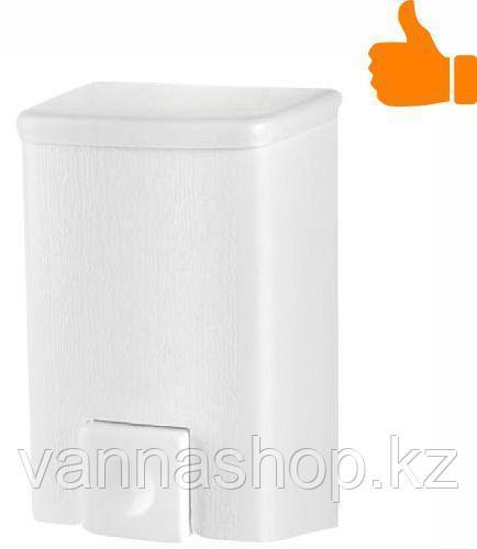 Дозатор (диспенсер) для жидкого мыла 500 мл белый - фото 1