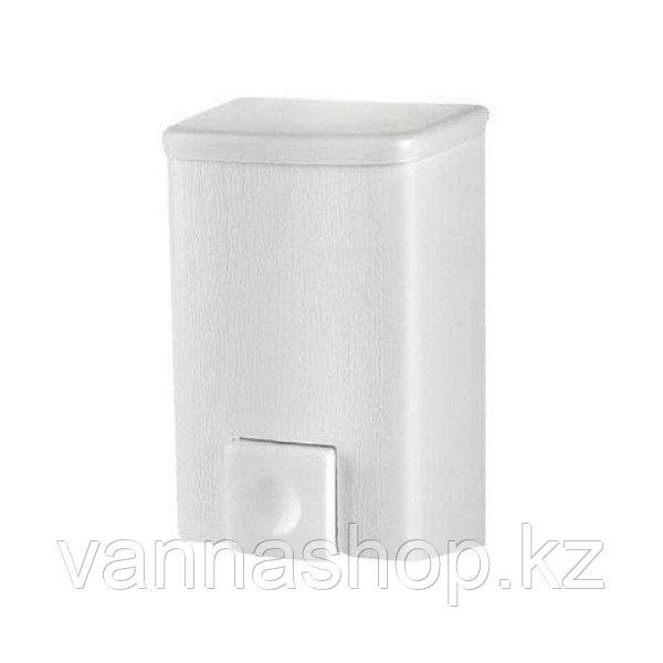 Дозатор (диспенсер) для жидкого мыла 500 мл белый - фото 3