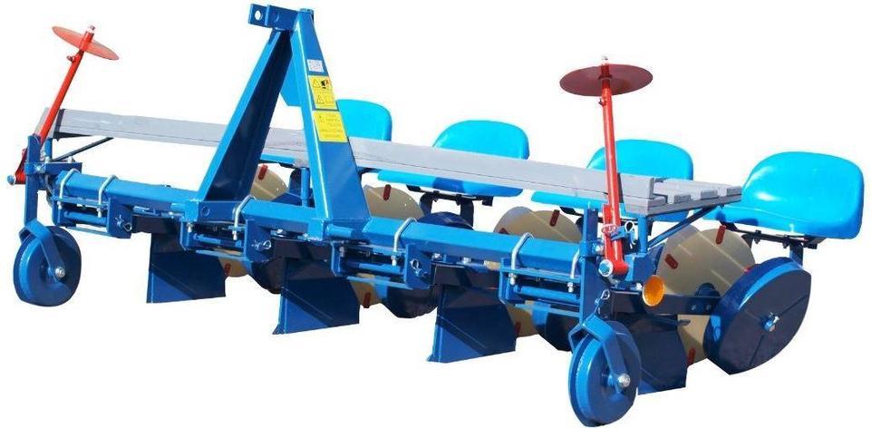Рассадопосадочная машина четырёхрядная D-pol, фото 2