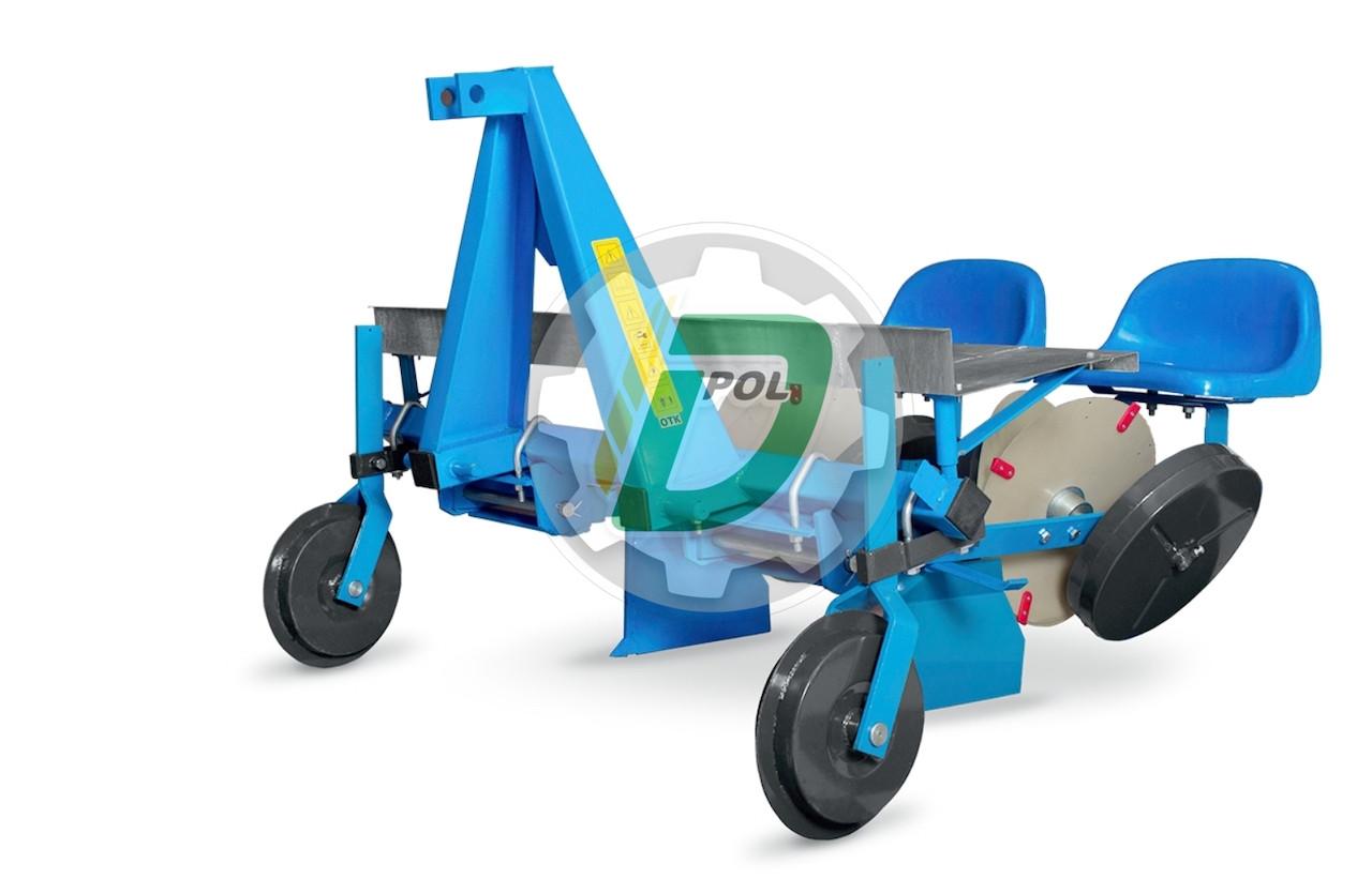 Рассадопосадочная машина двухрядная D-pol