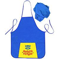 Фартук для труда с нарукавниками,1карман Мульти-Пульти ФТ_13484 синий
