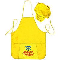 Фартук для труда с нарукавниками,1карман Мульти-Пульти ФТ_13480 желтый