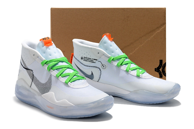 Баскетбольные кроссовки  Nike KD 12 (XII) Off White, from Kevin Durant