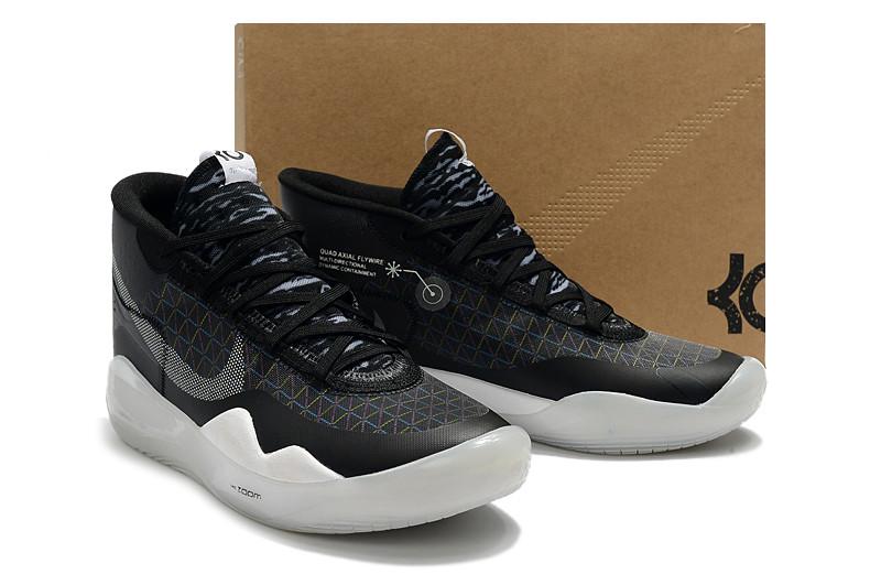 "Баскетбольные кроссовки  Nike KD 12 (XII) ""Black-Gray"" from Kevin Durant"