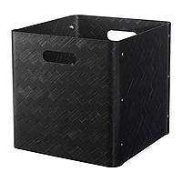 Ящик ,БУЛЛИГ черный ИКЕА, IKEA, фото 1