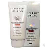 Солнцезащитный крем UV Sun Block SPF50+/PA+++ 70ml (Jigott) (Whitening)
