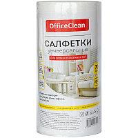 Салфетки универсальные OfficeClean, 20*22см, 70шт., в рулоне, 0,045г/м2